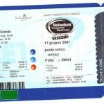 biglietti numerati e codificati