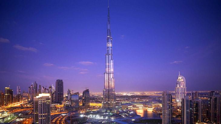 A Dubai l'hotel più alto del mondo.