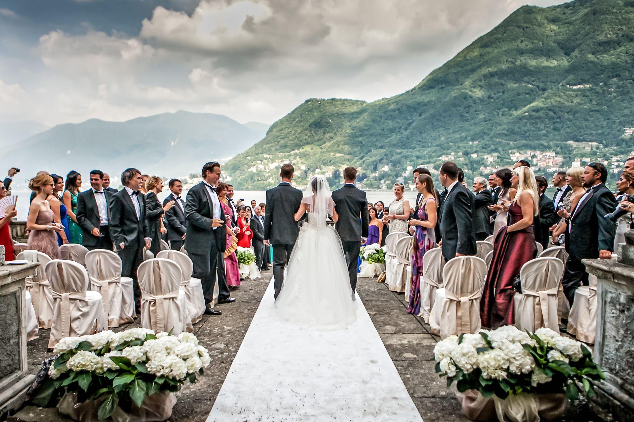Come rendere indimenticabile il vostro matrimonio sul Lago di Como
