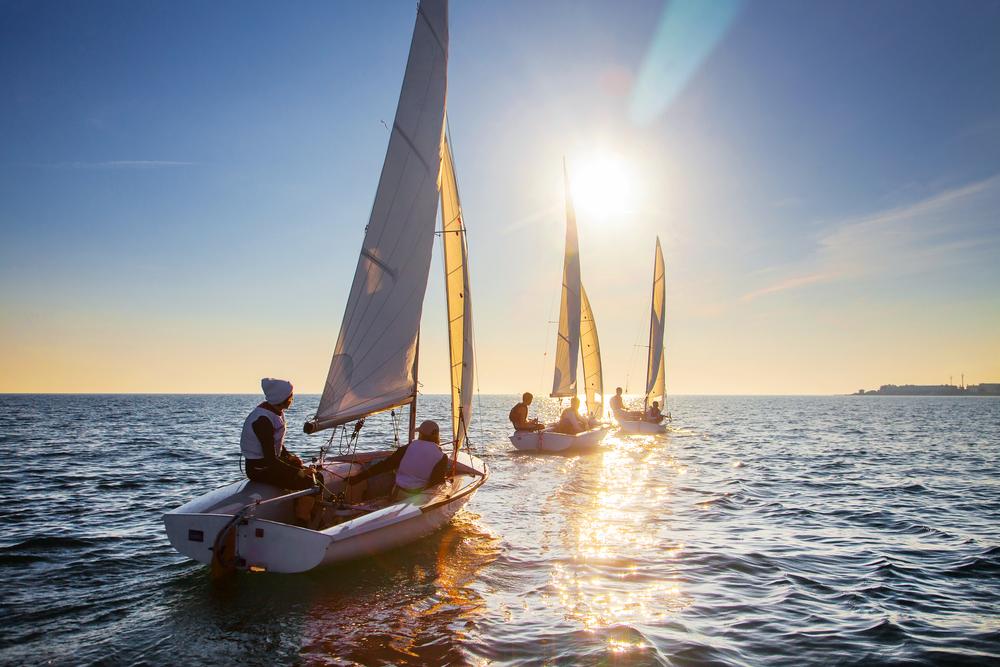 Giornata in barca a vela al Lago d'Iseo